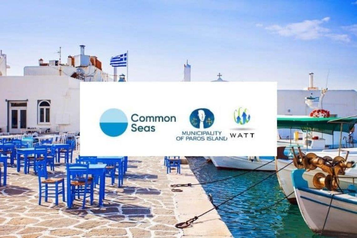 Clean Blue Paros: Το πρόγραμμα που στοχεύει στο να γίνει η Πάρος το πρώτο νησί χωρίς πλαστικά μιας χρήσης στη Μεσόγειο.